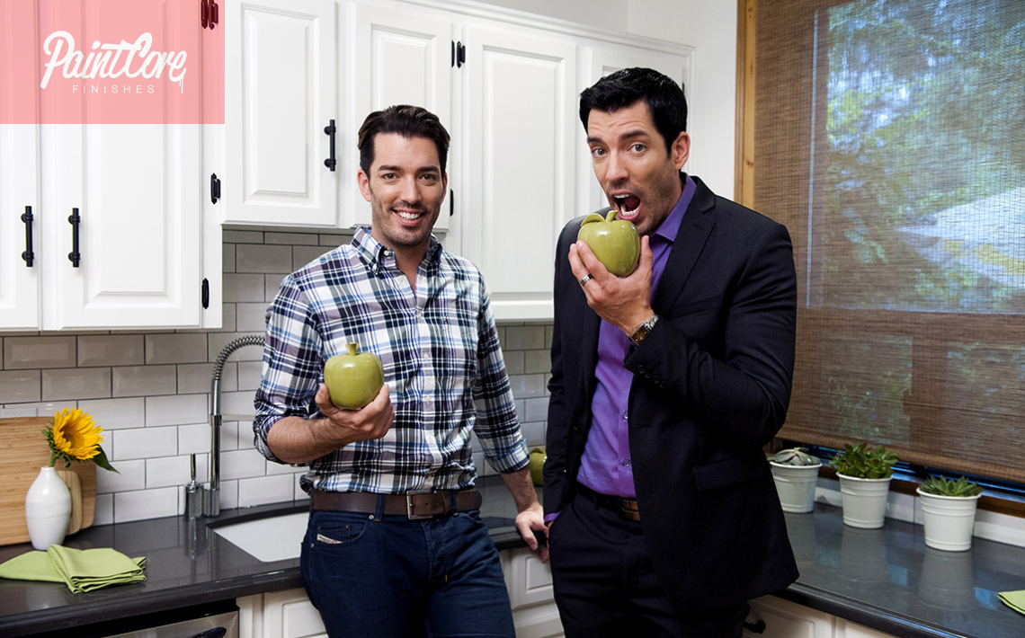 The property brothers show paintcore Who are the property brothers